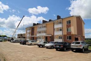 24-квартирный жилой дом для ветеранов ВОВ  сдан к дню празднования 70-летия  Победы.  Сейчас возводится вторая очередь дома на 12 квартир.