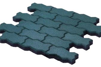 «Волна»—?специфичная форма повышает прочность идолговечность конечной конструкции, поскольку минимизирует смещение плитки впроцессе эксплуатации.